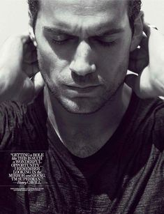 Man of Steel || Henry Cavill || Interview Magazine June/July 2013. #HenryCavill