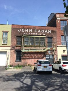 John Eagan Blacksmith (restored), Albany, NY