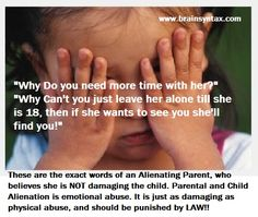 Open letter from an alienated child to her mom | YOU are a horrible human being and this is your future. Enjoy.
