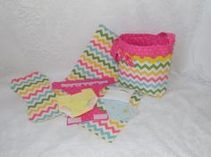 Chevron Print Doll Diaper Bag Set  Includes Bag by thatssewholly
