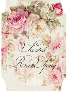 Shabby Art Boutique Scented Room Spray 2-- Make your own scent recipe.