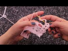 Alize Angora Gold ile Abiye (İncili) Şal - Dressy (Pearly) Shawl via Alize Angora Gold - YouTube