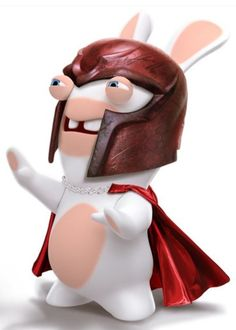RABBIDS Can Be Super Heros Too!!!!