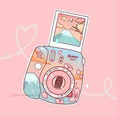Cute Pastel Wallpaper, Kawaii Wallpaper, Wallpaper Iphone Cute, Arte Do Kawaii, Kawaii Art, Stickers Kawaii, Cute Stickers, Japon Illustration, Cute Illustration
