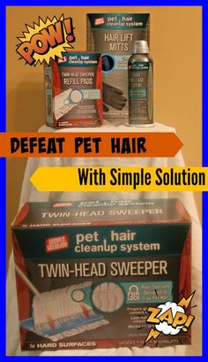 Simple Solutions Pet Hair Cleanup System