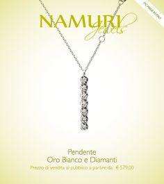 https://itcportale.it/?p=4612  Pendente Namuri Jewels: Oro Bianco e Diamante Scopri lo STORE PARTNER piu' vicino a te su ItcPortale.it #itcportale #jewelry #diamond #lifestyle #musthave #wedding #engagement #madeinitaly #diamanti #orobianco #gioielli