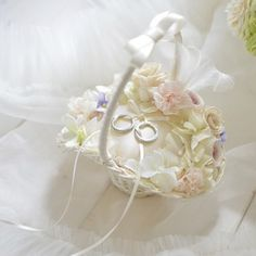 Wedding Wear, Wedding Rings, Ring Pillows, Wedding Headband, Wedding Crafts, Ring Bearer, Flower Crafts, Flower Designs, Marie