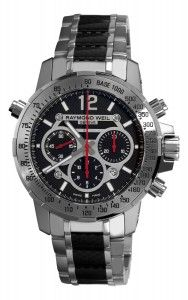 Raymond Weil Titanium and Stainless Steel Watch