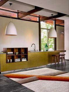 Carpet Design, Magnets, Ceiling Lights, Modern, Table, Furniture, Rug, Home Decor, Spaces