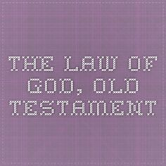 The Law of God, Book 1, Old Testament Curriculum, Homeschool, Old Testament, Book 1, Law, Math Equations, Reading, Resume, Teaching Plan