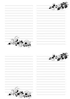 Pin by Muse Printables on Stationery at StationeryTree.com