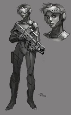 ArtStation - friday morning and lunch doodle, Jonathan Kuo