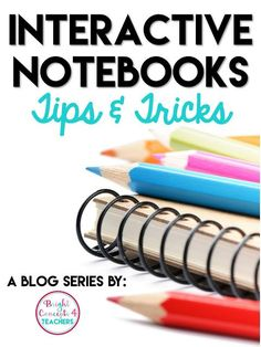 Do you like the ideas of interactive notebooks but not sure how to get started? Then this series is for you! It gives you tips and tricks to get started using interactive notebooks in your classroom for all age levels #interactivenotebooks #elementaryclassroom #teacherideas #tipsandtricks