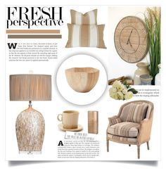 """""""Natural"""" by dragonflylt ❤ liked on Polyvore featuring interior, interiors, interior design, home, home decor, interior decorating and Thos. Baker"""