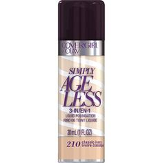 CoverGirl Simply Ageless 3-In-1 Liquid Foundation Classic Ivory