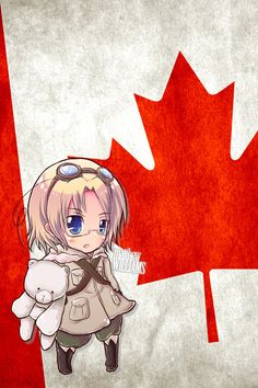 Hetalia iWallpapers - Canada by Dreamweaver38.deviantart.com on @DeviantArt