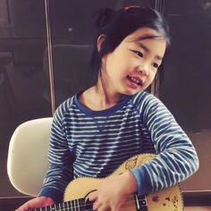 Haru sings along to her new song on Instagram