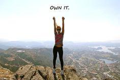 own it.