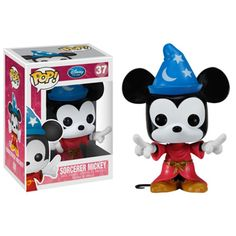 Hey Mickey!! Funko POP! Disney - Vinyl Figure - FANTASIA MICKEY (4 inch)