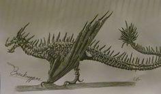 How To Train Your Dragon: Boneknapper by AcroSauroTaurus