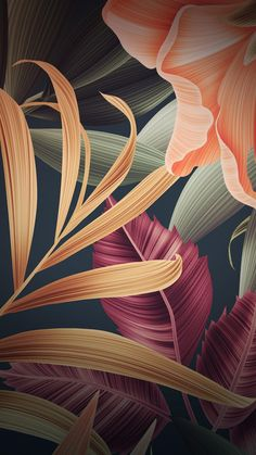 Stock, digital art, abstract, leaves wallpaper - Best of Wallpapers for Andriod and ios Wallpaper World, Trendy Wallpaper, Flower Wallpaper, Screen Wallpaper, Mobile Wallpaper, Cute Wallpapers, Wallpaper Backgrounds, Leaves Wallpaper, Wallpaper Quotes