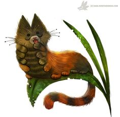 Daily Painting #971. Caterpillar (OG) by Cryptid-Creations.deviantart.com on @DeviantArt