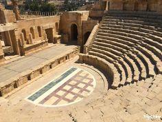 The ancient city of Jerash, Jordan