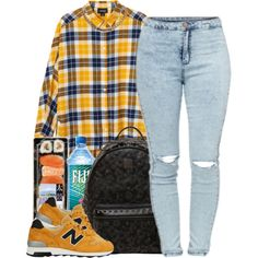 5/10/15 by queenbrittani on Polyvore featuring polyvore fashion style Monki MCM Givenchy New Balance