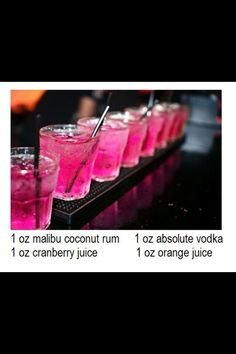 Yummy drink mix