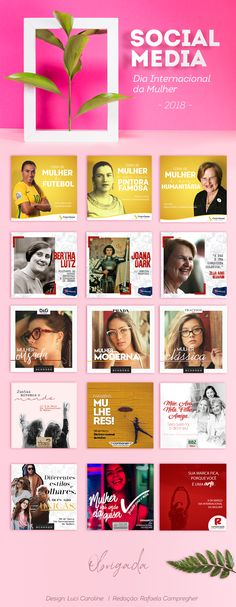 "Check out this @Behance project: ""Social Media - Dia Internacional da Mulher 2018"" https://www.behance.net/gallery/63057837/Social-Media-Dia-Internacional-da-Mulher-2018"