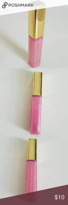 Estee Lauder Lip Gloss Beautiful brand new without tag Estee Lauder Lip Gloss. Frivolous Pink Sparkle. Part of extras that came with my purchase. Never used and don't need it. Estee Lauder Makeup Lip Balm & Gloss