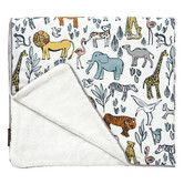 Found it at DwellStudio - Safari Stroller Blanket