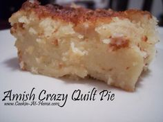 Amish Crazy Quilt Pie - Just throw it all in a blender!