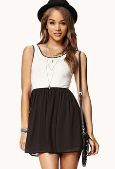 Forever 21 is the authority on fashion & the go-to retailer for the latest trends, styles & the hottest deals. Shop dresses, tops, tees, leggings & more! Casual Dresses For Women, Trendy Outfits, Cute Dresses, Cute Outfits, Fit And Flare Cocktail Dress, Fit N Flare Dress, Combo Dress, Mini Skater Dress, Online Dress Shopping