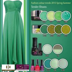 Tender Shoots Nail Shop, Fashion Colours, Beauty Nails, Color Trends, Spring Summer, Formal Dresses, Shopping, Products, Dresses For Formal