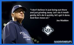 Joe Maddon - Tampa Bay Rays