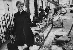 Mia Farrow in London. 1967