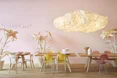 I definitely must try to make such a gorgeous cloud lamp! http://www.designlines.de/interviews/India-Mahdavi_16678449.html
