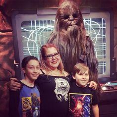 We're a happy family! #Chewbacca #Chewie #true love by devildawl