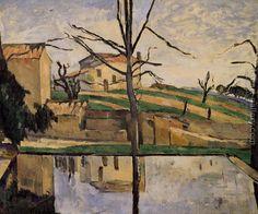 The Pool At Jas De Bouffan Paul Cezanne Reproduction | 1st Art Gallery