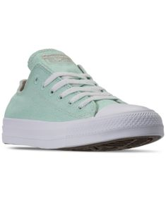 Converse Women's Chuck Taylor All Star Renew Low Top Casual Sneakers From Finish Line In Ocean Mint/natural/white Converse Style, Converse Shoes, Plastic Waste, Converse Chuck Taylor All Star, Finish Line, Casual Sneakers, World Of Fashion, New Product, Chuck Taylors