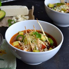 Tortilla Soup | taste love and nourish