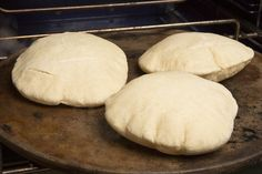 NYT Cooking: Homemade Pita Bread