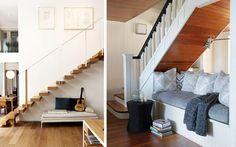 | Aprovechando el espacio bajo la escalera: Usos alternativos