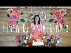 DIY: Flor Gigante de Papel - YouTube