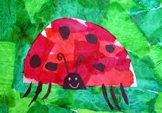 Ladybug art, grouchy ladybug, fall crafts for kids, toddler crafts, art for Art For Kids, Crafts For Kids, Toddler Crafts, Fall Crafts, Grade 1 Art, Spring Art Projects, Popular Artists, Easter Art, Kindergarten Art