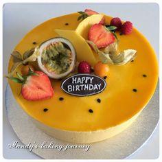 Mandy's baking journey: My late Birthday cake post
