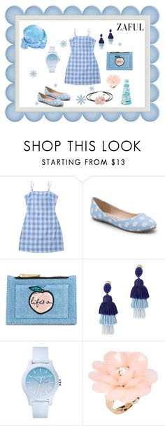 """Zaful Day Dresses"" by flowerbud77 ❤ liked on Polyvore featuring Spirit Co., Skinnydip, Oscar de la Renta, Lacoste, Dettagli and Mudd"