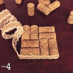 43 DIY Wine Cork Craft Ideas: Upcycle Wine Corks into Decor Art 43 Bastelideen für DIY-Weinkorken: Upcycle Wine Corks into Decor Art Source by Wine Craft, Wine Cork Crafts, Wine Bottle Crafts, Wine Cork Coasters, Diy Coasters, Wine Cork Projects, Craft Projects, Craft Ideas, Fun Ideas