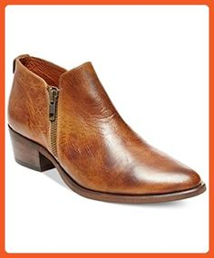 27defcc6980 Steve Madden Womens Ajay Casual Booties Cognac Leather 6 - Boots for women  ( Amazon